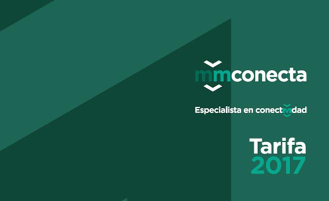 MMCONECTA lanza su nueva Tarifa 2017