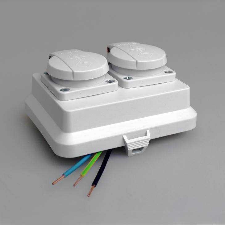 Nueva solución MMCONECTA para 2 schukos estancos