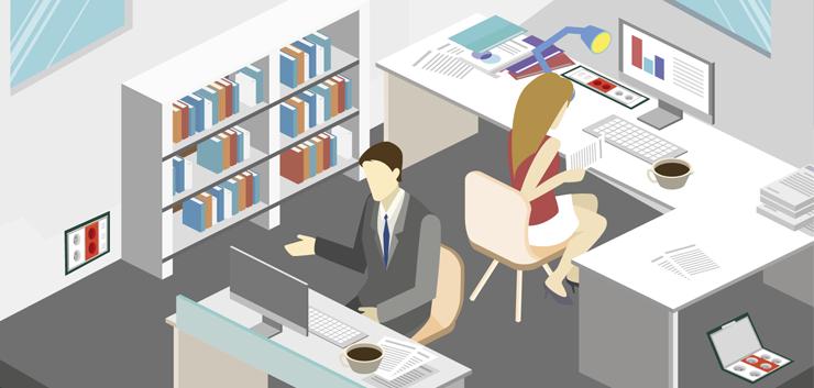 Solución MMCONECTA a la Lipoatrofia muscular, la enfermedad de las oficinas hoy en día