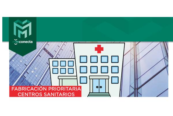 MMCONECTA prioriza la fabricación de sus productos para Centros Sanitarios