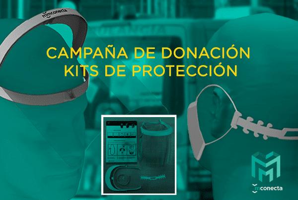 MMCONECTA comienza su Campaña de Donación de Kits de Protección para todo su Canal de Distribución