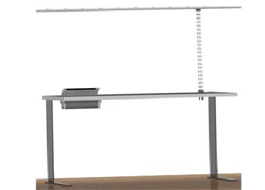Organizador de cables de techo